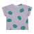 Bobo Choses Baby T-shirt With All Over Tomato Print Purple