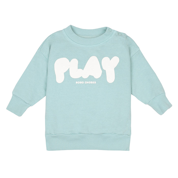 Bobo Choses Baby Sweatshirt With Play Print Green