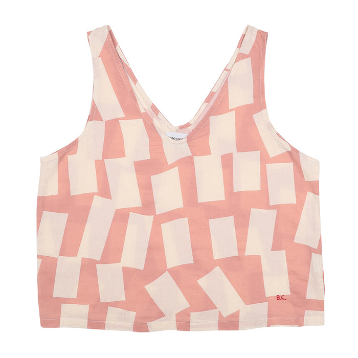Bobo Choses Woman Tank Top With Shadow Print Pink