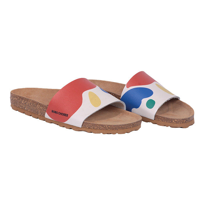 Bobo Choses Woman Landscape Sandals Multicolour