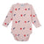 Bobo Choses Baby Bodysuit With All Over Night Print Pink