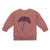 Bobo Choses Baby Sweatshirt With Umbrella Print Brown