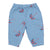 Bobo Choses Baby Pants With All Over Umbrella Print Blue