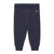 Bobo Choses Baby Knitted Striped Leggings Navy Blue