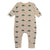 Bobo Choses Baby Jumpsuit With All Over Umbrella Print Cream