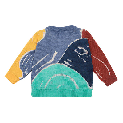Bobo Choses Child Abstractions Cardigan Multicolour