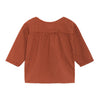 Bobo Choses Baby Long Sleeved Shirt Brown With Bitter Sweet