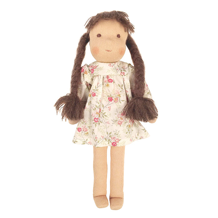 Bonpoint Cerise Doll In Mini Cherry Dress