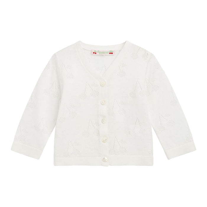 Bonpoint Baby Cherry Cardigan