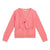 Bonpoint Child Knot Cardigan Pink