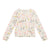 Bonpoint Child Cardigan Cream Floral Print