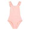 Bonpoint Child Ruffle Swimsuit Pink