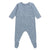Bonpoint Baby Pyjamas With Feet Blue Space Print