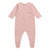 Bonpoint Baby Pyjamas With Feet Pink Cherry Print