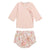 Bonpoint Baby Two Piece Set PInk Liberty Print