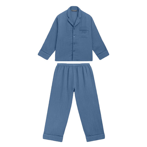Bonpoint Child Dormeur Pyjamas Dusky Blue