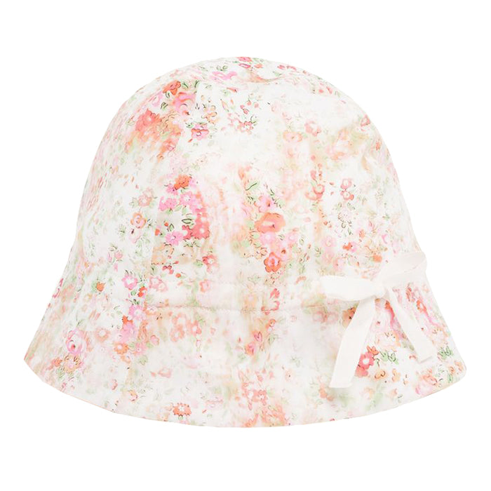 Bonpoint Baby Grigri Sun Hat Pink Liberty Print
