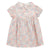 Bonpoint Baby Naylis Dress Pink Tea Rose Print