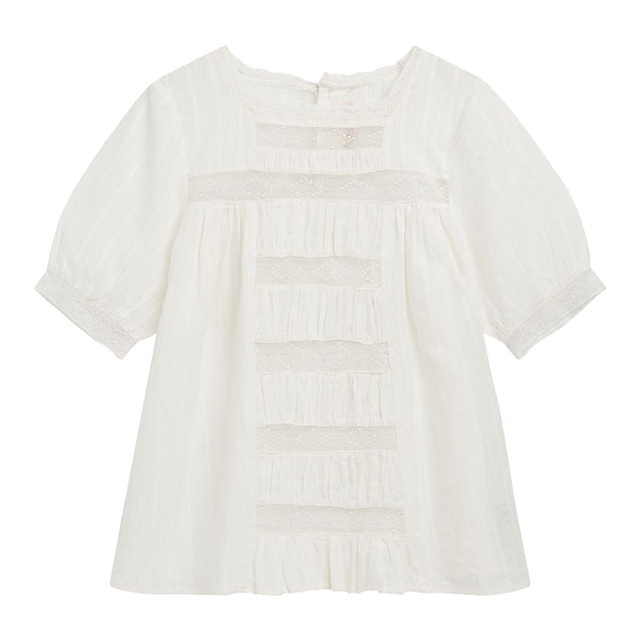 Bonpoint Child Nilo Blouse White