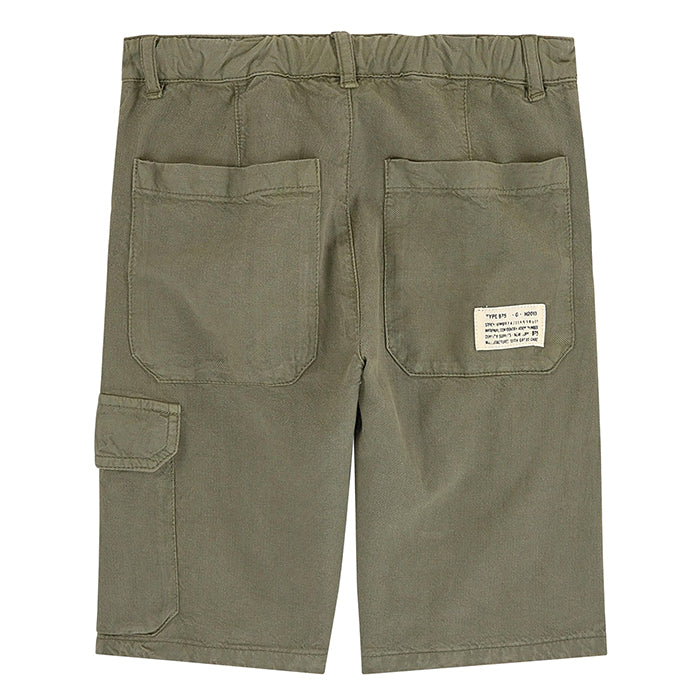 Bonpoint Child Nils Bermuda Shorts Khaki Green
