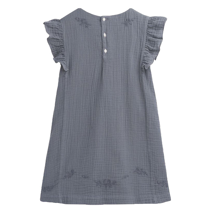Bonpoint Child Nilunea Dress Grey