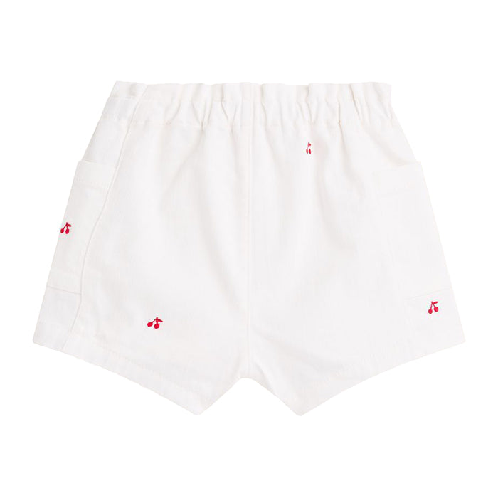 Bonpoint Baby Nougat Shorts White