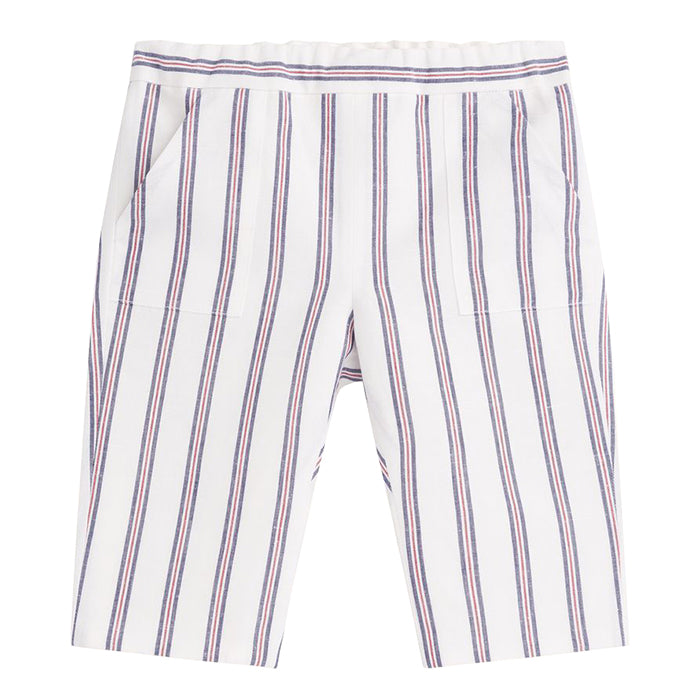 Bonpoint Baby Thursday Pants Blue Stripes