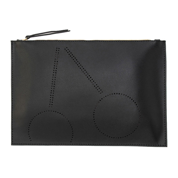 Bonpoint Woman Clutch Bag Black