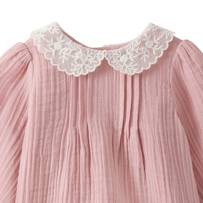 Bonpoint Baby Mimosa Blouse Pink