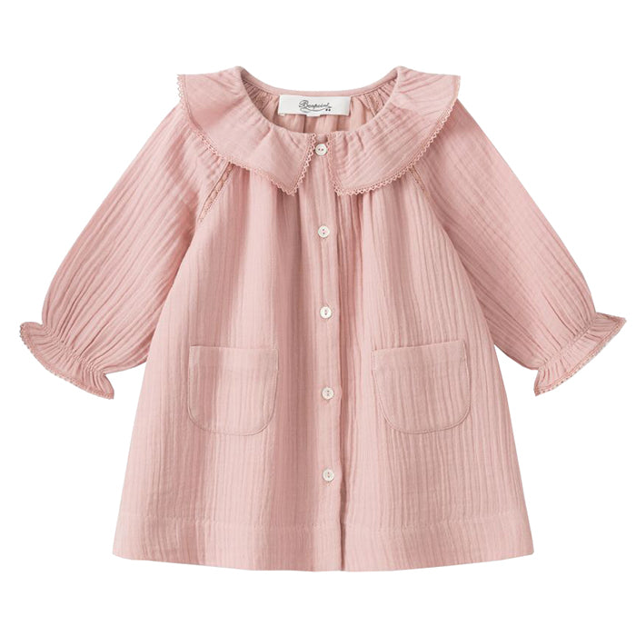 Bonpoint Baby Peche Dress Pink