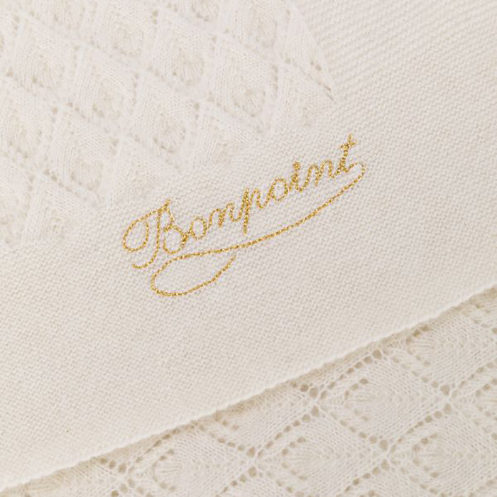 Bonpoint Cashmere Blanket Milk White