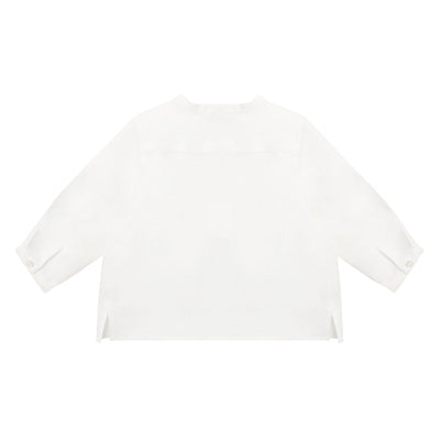 Bonpoint Baby Polisson Shirt White