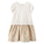 Bonpoint Child Contrast T-shirt Dress White