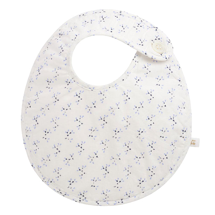 Bonpoint Baby Bib Cream With Print