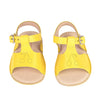 Bonpoint Baby Lalana Leather Sandals Yellow