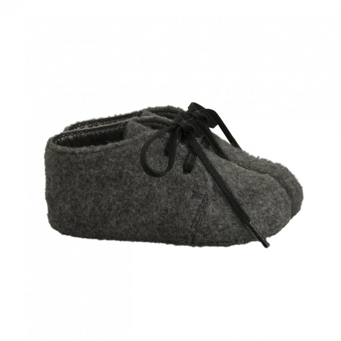 Bonpoint Baby Derby Shoes Gris Chine
