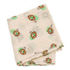 Bonpoint Child Cayati Scarf Vanilla Cream With Floral Print