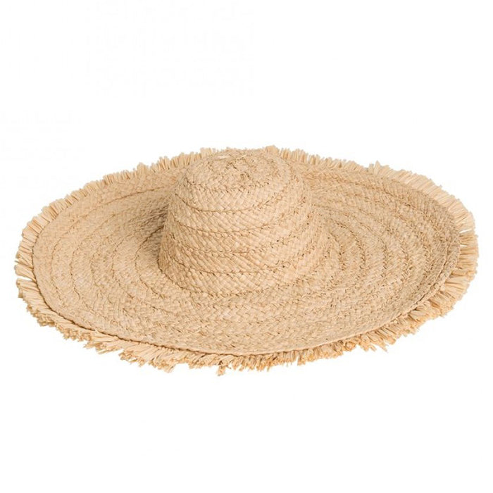 Bonpoint Child Saudade Raffia Hat Natural