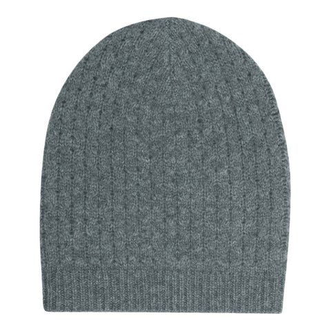 Bonpoint Knitted Hat Gris Fonce