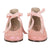 Bonpoint Baby Ghillies First Walker Shoes Pink