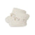 Bonpoint Baby Organic Cotton Knitted Booties Off-White