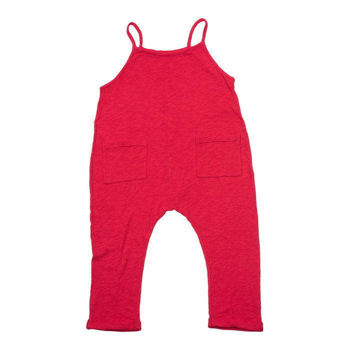 Bonton Combinaison Jersey Red Carpet - Jersey Romper Red - Advice from a Caterpillar