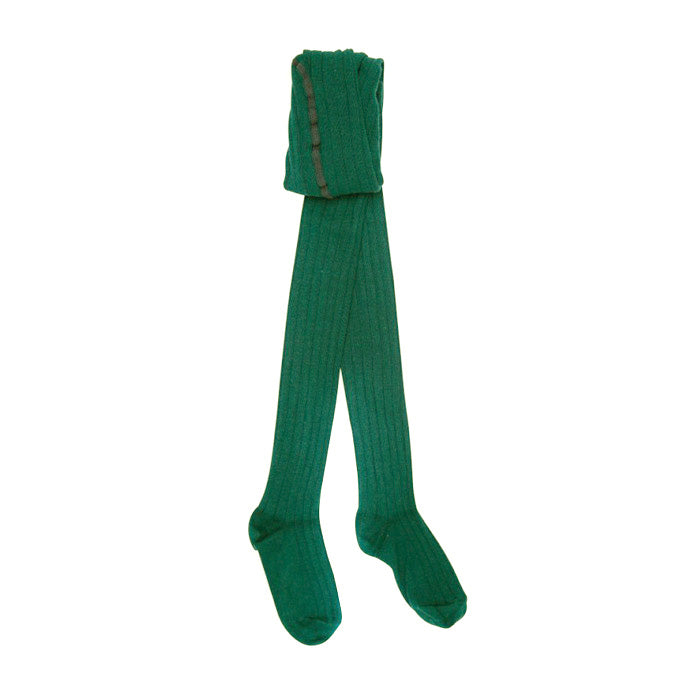 Bonton Child Tights Jade Green