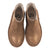 Bonton Child Leather Boots Brown