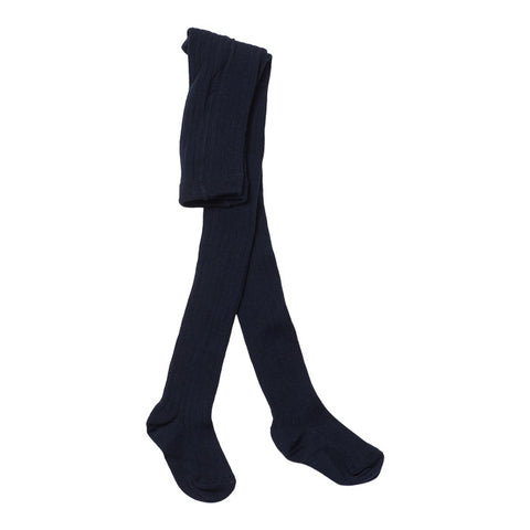 Bonton Child Tights Marine Blue