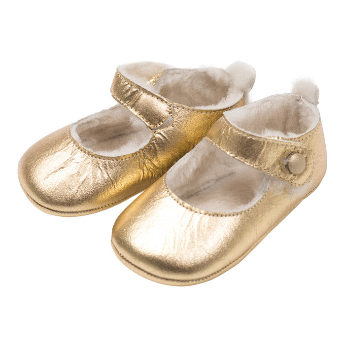 Bonton Baby Mila Shoes Gold