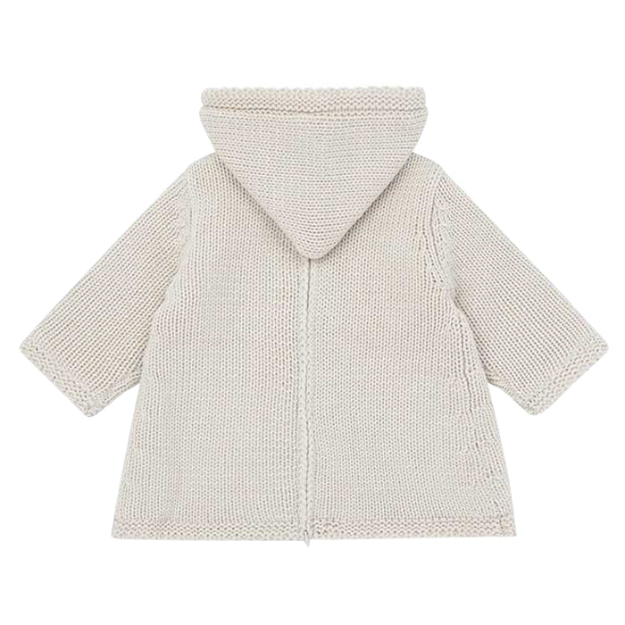 Bonton Baby Malo Burnous Sweater Dulce De Leche Brown