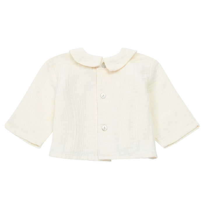 Bonton Baby Calin Long Sleeved Shirt Latte Cream
