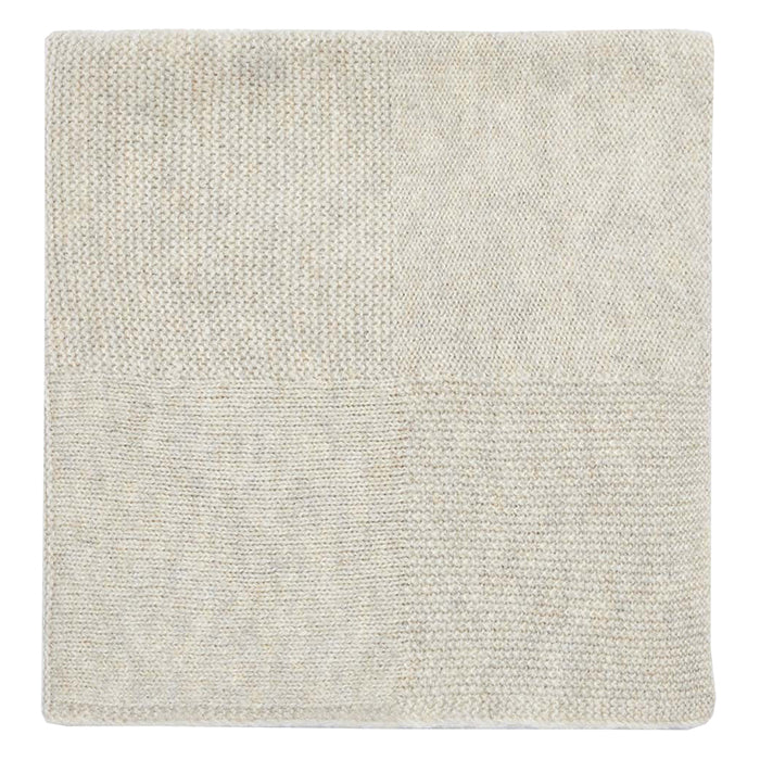 Bonton Baby Mika Blanket With Hood Biege Grey