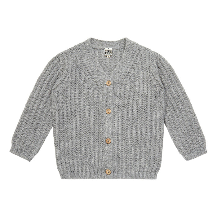 Bonton Child Magic Cardigan Grey